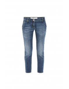 Elisabetta Franchi  Jeans with star-shaped studs