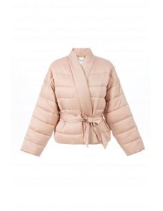 Kimono quilted coat - Elisabetta Franchi