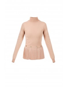 Top with pleats - Elisabetta Franchi