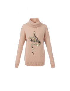Jumper with embroidery - Elisabetta Franchi