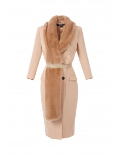 Dress Midi with belt and stole - Elisabetta Franchi