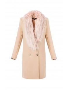 Manteau croisé avec Ecopiel - Elisabetta Franchi