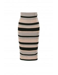 Striped pencil skirt - Elisabetta Franchi
