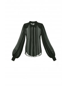 Blouse with loose-fitting sleeves - Elisabetta Franchi