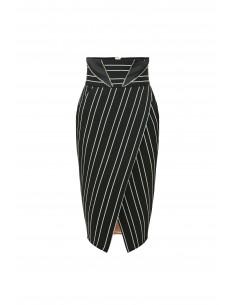 Pinstripe skirt - Elisabetta Franchi