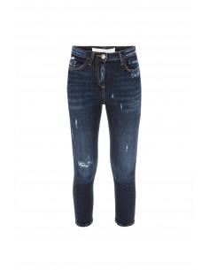 Ripped capri jeans - Elisabetta Franchi