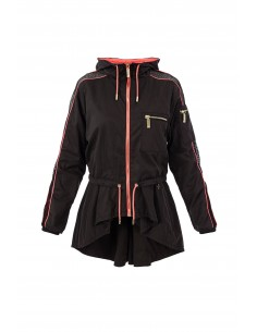 Sporty windbreaker - Elisabetta Franchi - gb01z76e2_m71