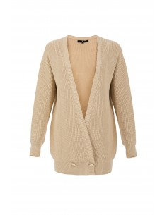 Cardigan with buttons - Elisabetta Franchi - mk25t76e2_260