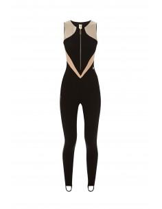 Sporty long jumpsuit - Elisabetta Franchi - tu00876e2_m52