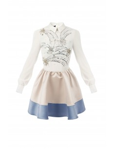 Mini dress with sequin embroidery - Elisabetta Franchi