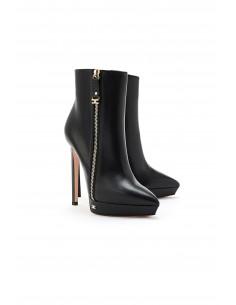 Koronkowe buty Ankle -...