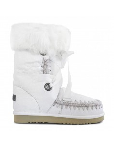 Eskimo Boots with Laces and Fur - MOU