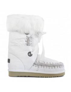 Eskimo laarzen met veters en bont - MOU
