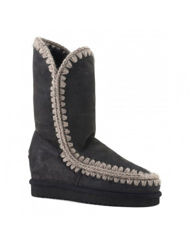 "Slim-line eskimo wedge tall in ""Offblack"" - MOU"