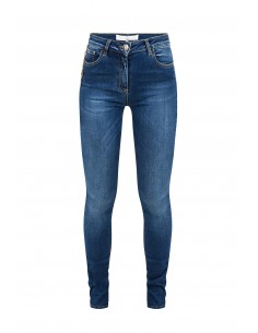 Jeans with chains and pendants - Elisabetta Franchi - pj03S81e2_139