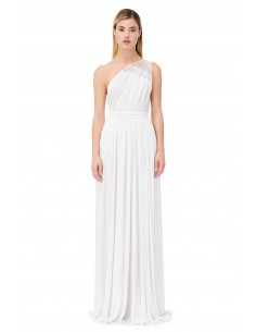 Dress Elisabetta Franchi, One-shoulder, Long