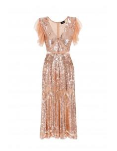 Midi dress with sequins - Elisabetta Franchi - ar26g82e2_350
