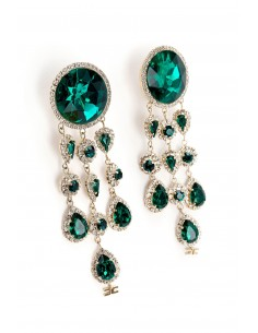 Earrings with stones - Elisabetta Franchi - OR02A82E2_P26