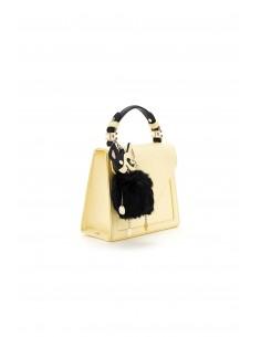 Bolsa pequena com chaveiro - Elisabetta Franchi - BS13A82E2_N73