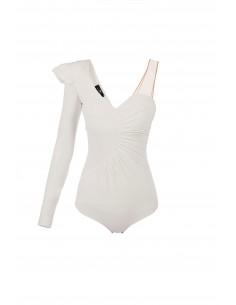 Bodysuit com babados - Elisabetta Franchi - BO09082E2_360