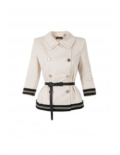 Trench with belt - Elisabetta Franchi - GI03Z81E2_E54