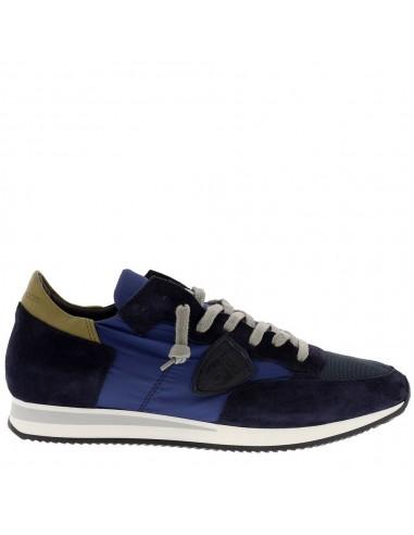 Philippe Model Sneaker Azul / Escuro Azul / Branco
