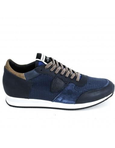 Philippe Model Sneaker Blue / Dark Blue / Brown