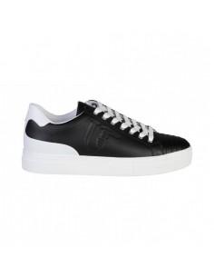 Trussardi Jeans Sneaker Schwarz/Weiß