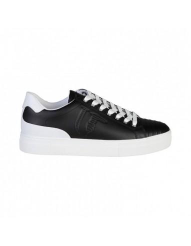 Trussardi Jeans Sneaker Czarny / Biały