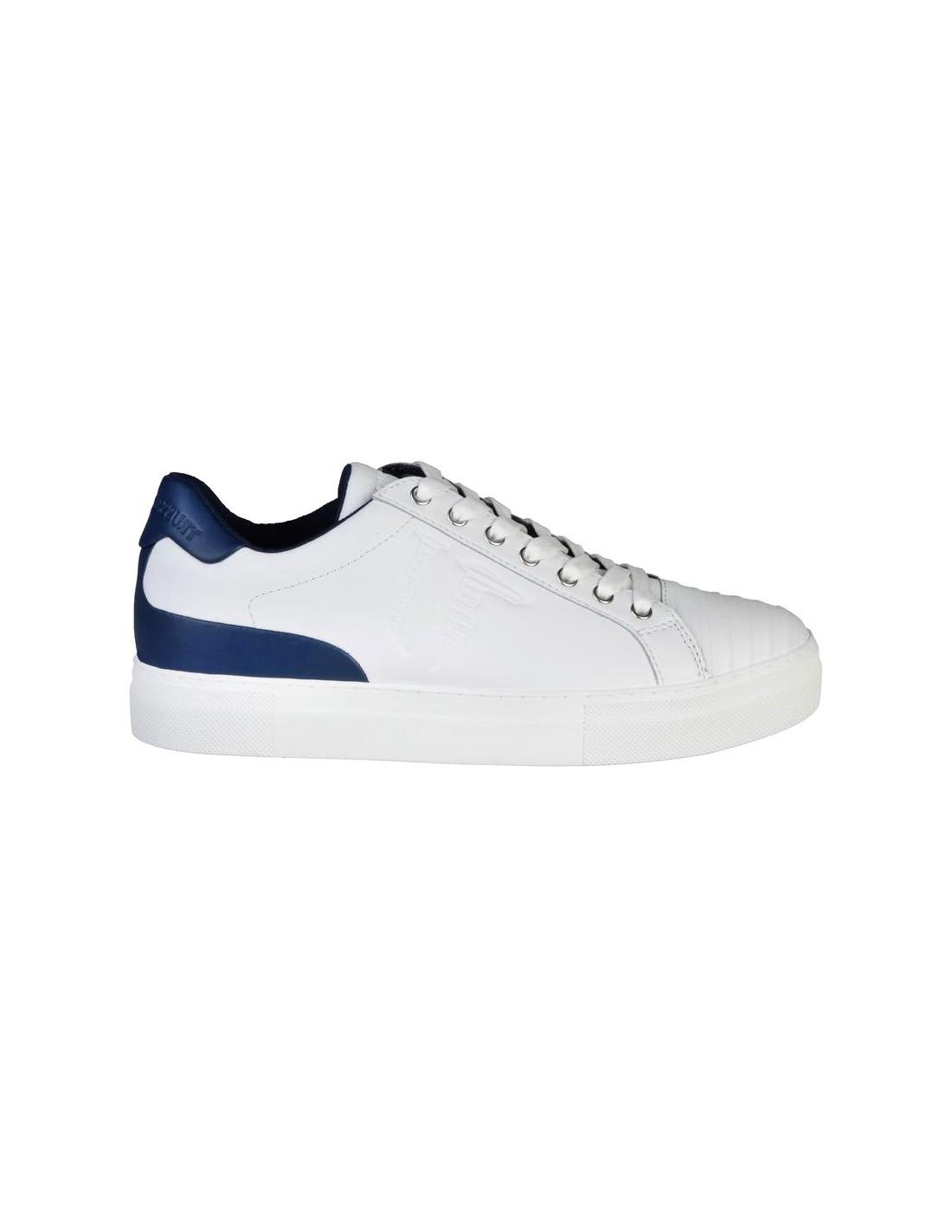 Bestpreis authentische Qualität beste Auswahl an Trussardi Jeans Sneaker Weiß/Blau