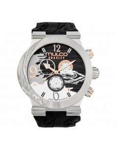 Mulco Watch Gravity Jupiter in black / white - MW5-3567-023