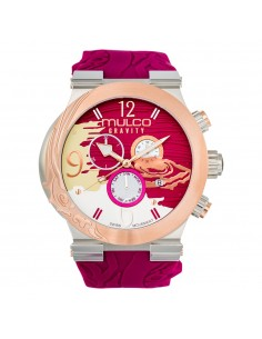 Mulco Watch Gravity Jupiter in Color Fuchsia - MW5-3567-523