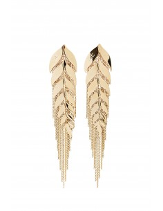 Earrings with ear motif - Elisabetta Franchi - OR06B83E2_610