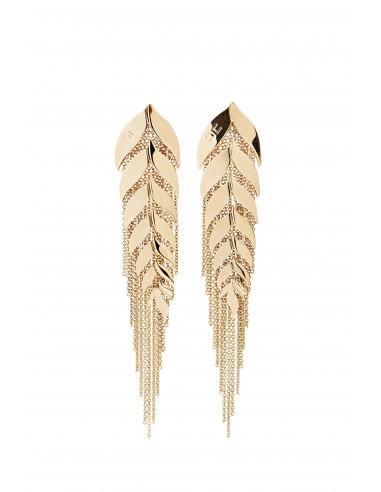 Earrings with ear motif - Elisabetta Franchi - OR06B83E2_610
