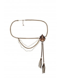 Belt with tassels - Elisabetta Franchi - CT28D83E2_028