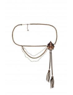 Belt with tassels - Elisabetta Franchi - CT28D83E2_028