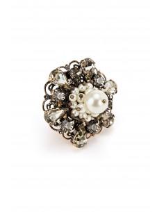 Anillo con perlas - Elisabetta Franchi - AN01D83E2_028