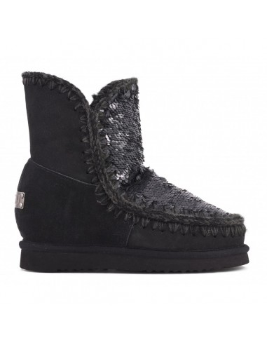 MOU Eskimo Wedge Kurz in Schwarz - inteskimosh_senbk