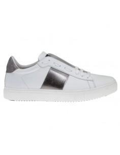 Sneakers/Runner in Weiß / Silber - Stokton