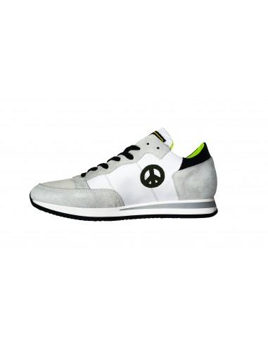 Sneaker PHILIPPE MODEL en cuir blanc...