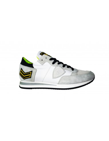 Sneaker PHILIPPE MODEL in white and suede leather - a18itrluux23