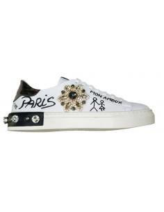 Sneaker Giove Paris con estrella de cristal - Paris, Mon Amour, G2043E