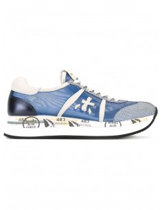 Premiata Sneakers Blue Net / Leather