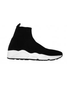Sneaker Giove in textil, zwart - g800