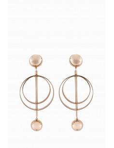 Elisabetta Franchi Earrings with hoops - OR63R87E2_604