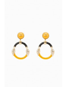 Elisabetta Franchi Round Earrings - OR05D87E2_T15