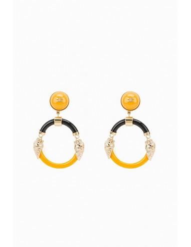 Elisabetta Franchi Round Earrings - OR05D87E2_T15