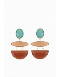 Elisabetta Franchi Crescent Earrings - OR78B88E2_T48
