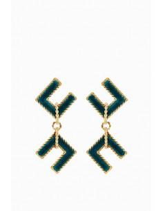 Boucles d'oreilles Elisabetta Franchi avec logo - OR32D88E2_804