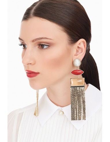 Elisabetta Franchi hanging earrings...